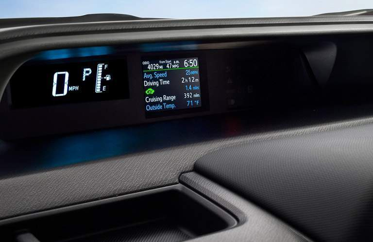 Prius c Multi-Information Display