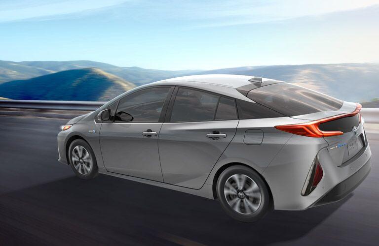 2017 Toyota Prius Prime in silver