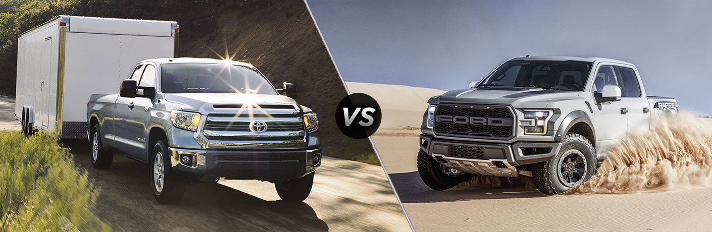 2017 Toyota Tundra vs 2017 Ford F-150