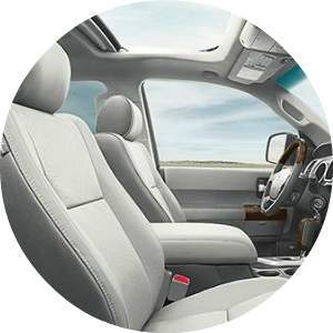 2017 Sequoia Interior