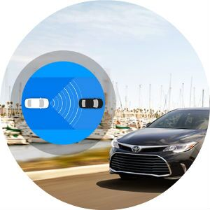 2017 Toyota Avalon Toyota Safety Sense P