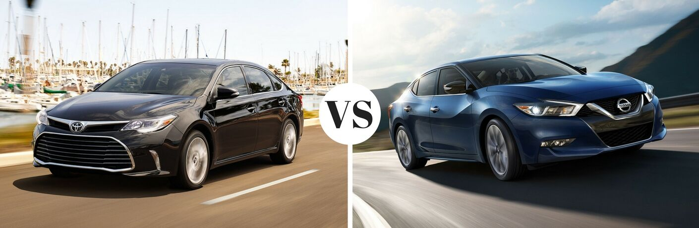 2017 Toyota Avalon vs 2017 Nissan Maxima