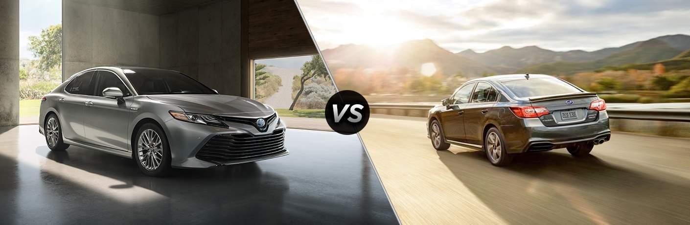 2018 Toyota Camry vs. 2018 Subaru Legacy