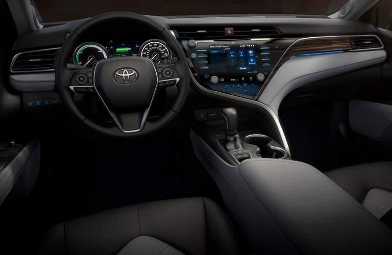 2018 Toyota Camry dashboard