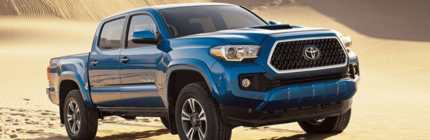 2018 Toyota TRD Sport in blue
