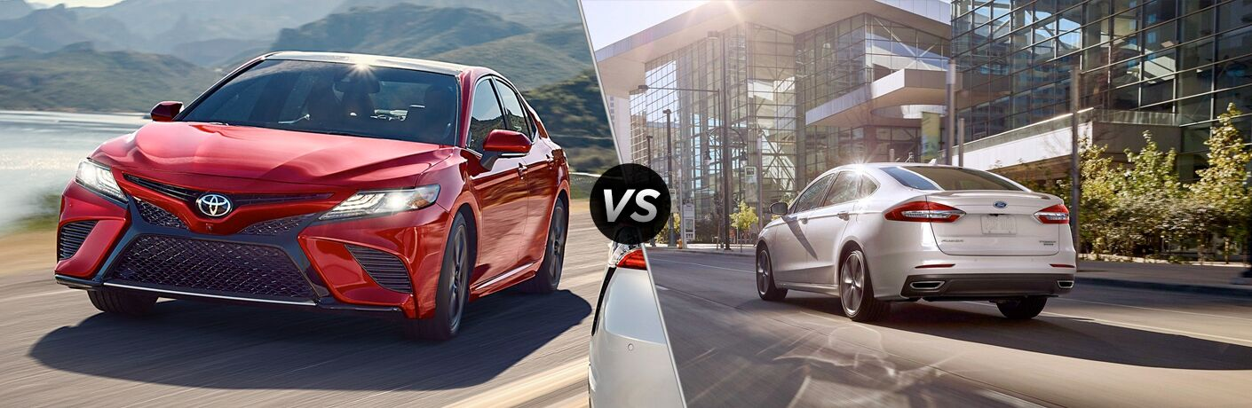 2019 Toyota Camry vs 2019 Ford Fusion