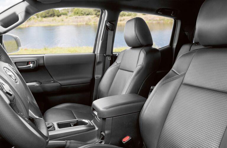 2019 Toyota Tacoma's front seats