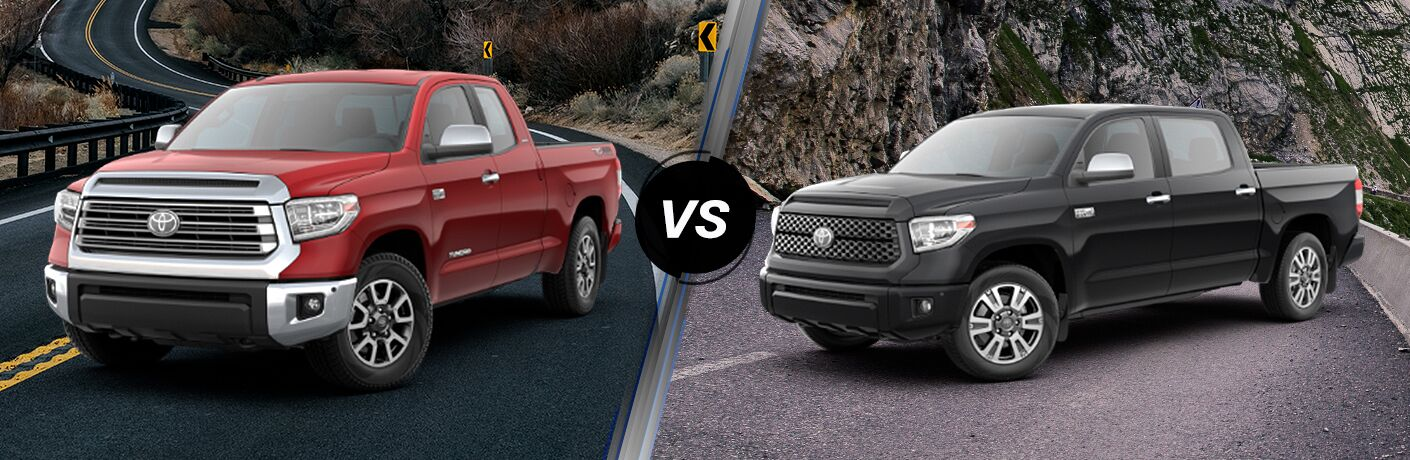 2019 Toyota Tundra Limited vs 2019 Toyota Tundra Platinum