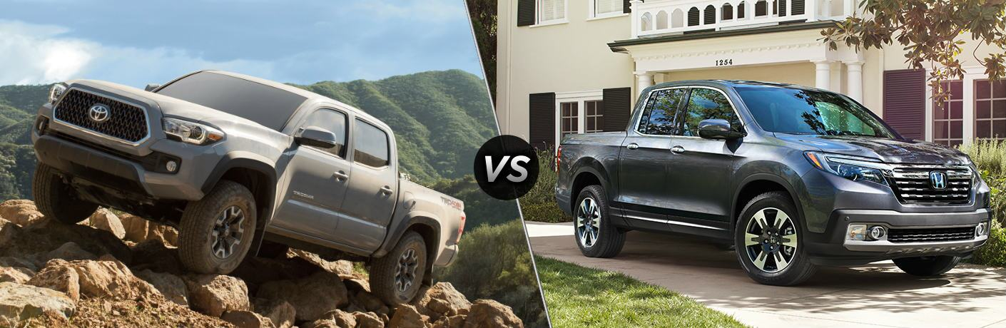 2019 Toyota Tacoma vs 2019 Honda Ridgeline