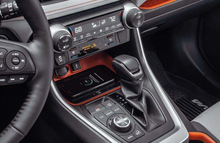 2020 Toyota RAV4 center console