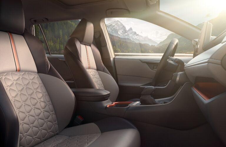 2020 Toyota RAV4 front seats