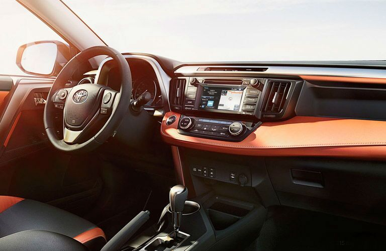 New Interior 2016 Toyota RAV4 vs. 2016 Subaru Forester Baierl Toyota
