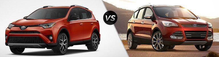2016 Toyota RAV4 vs 2016 Ford Escape