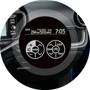 Prius c Technology