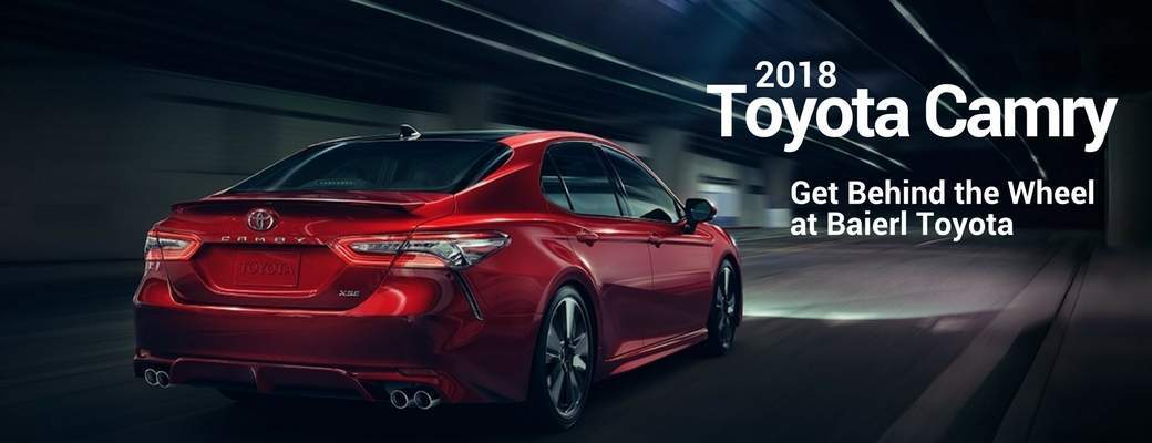 Test Drive a 2018 Toyota Camry in Pittsburgh, PA