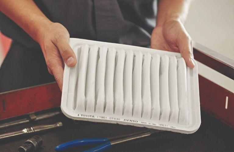 tech holding cabin air filter