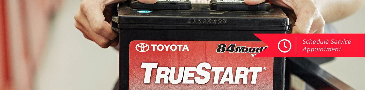 Schedule a battery replacement appointment with Baierl Toyota