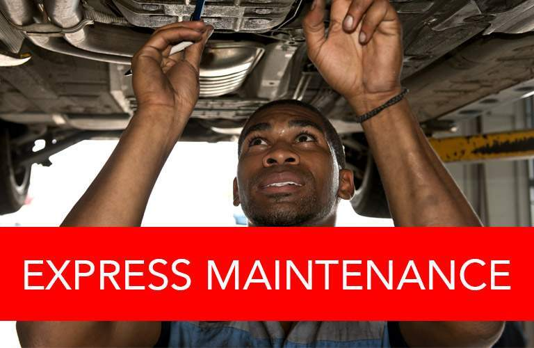 Express maintenance button