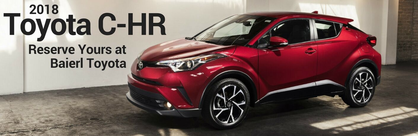 Reserve a 2018 Toyota CH-R in Pittsburgh, PA