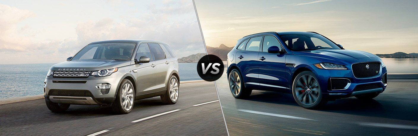 2017 Jaguar F-PACE vs 2017 Land Rover Discovery Sport