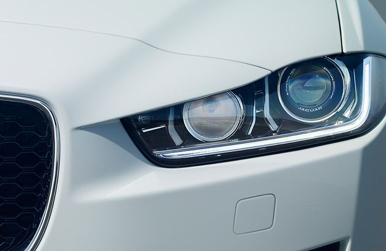Jaguar XE headlight