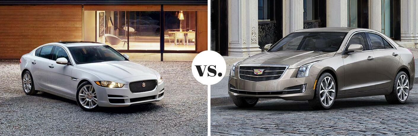 2017 Jaguar XE vs. 2017 Cadillac ATS
