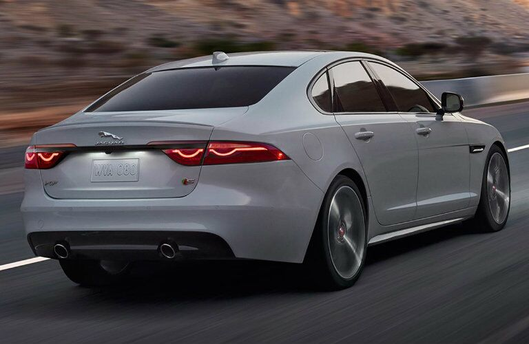 2017 Jaguar XF back