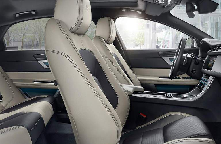 2017 Jaguar XF Two Tone Seating Trim