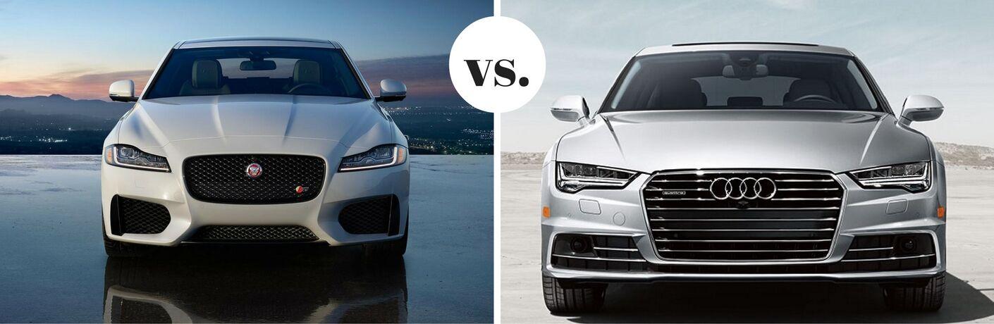 2017 Jaguar XF vs. 2017 Audi A7