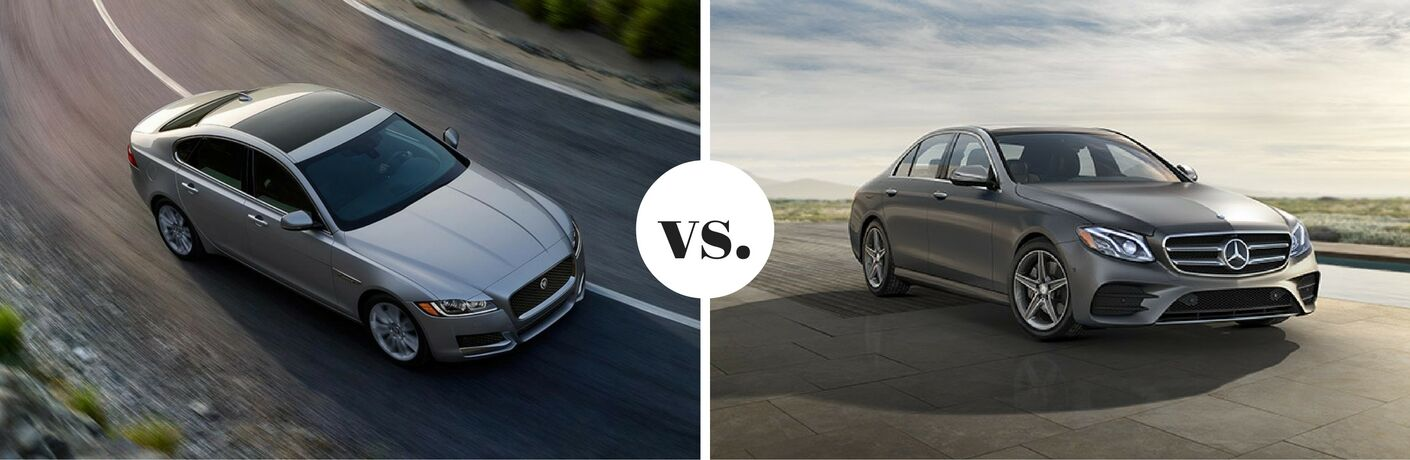2017 Jaguar XF vs. 2017 Mercedes-Benz E-Class