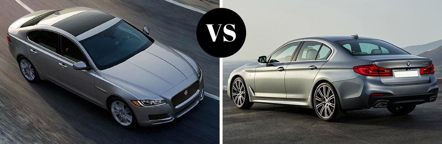 2017 Jaguar XF vs 2017 BMW 530i