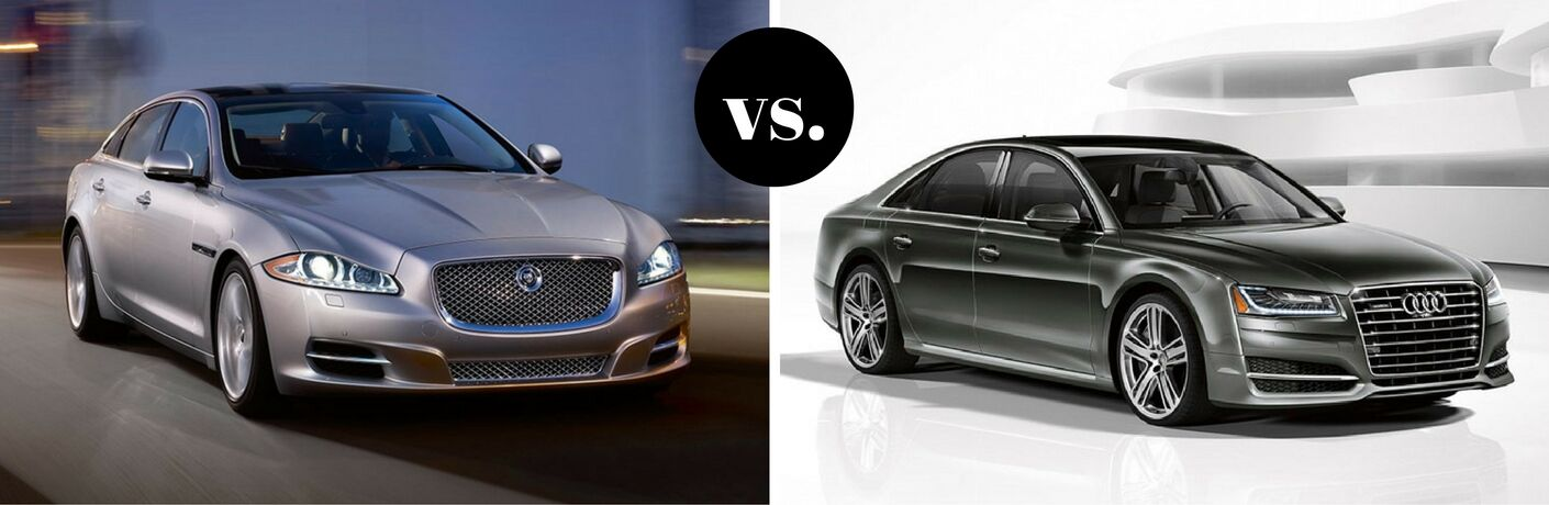 2017 Jaguar XJ vs. 2017 Audi A8