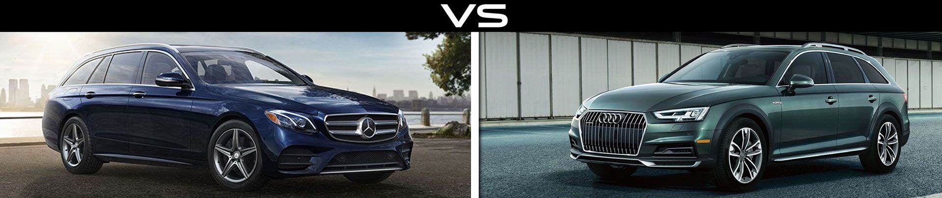 Jaguar XF Sportbrake vs Mercedes-Benz E400 vs Audi A4 Allroad