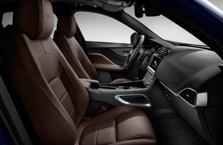 Jaguar F-PACE brown leather