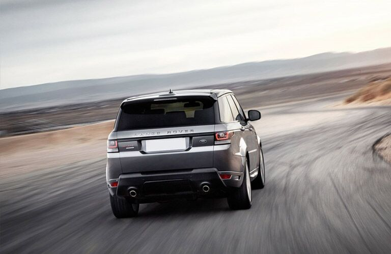 2016 Land Rover Range Rover Sport from the rear