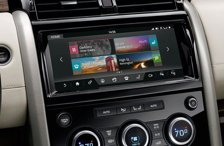 2017 Land Rover Discovery Infotainment System