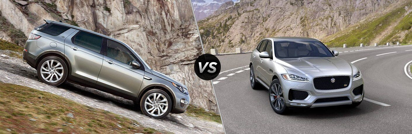 2017 Land Rover Discovery Sport vs 2017 Jaguar F-PACE