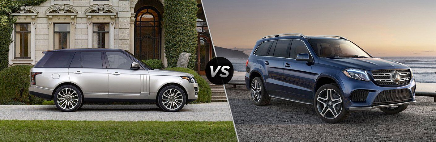 2017 Land Rover Range Rover vs 2017 Mercedes-Benz GLS-Class