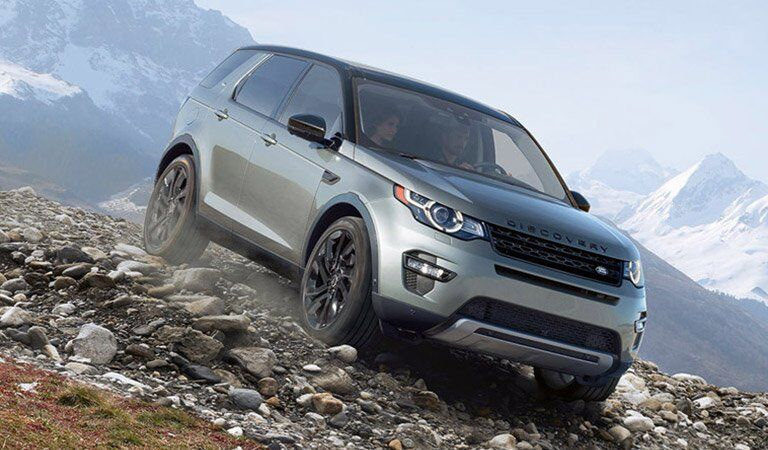 2017 Land Rover Range Rover Evoque off road