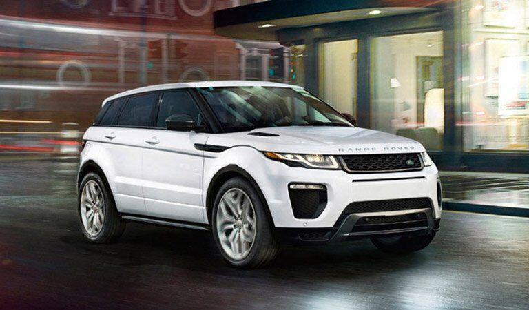 2017 Land Rover Range Rover Evoque white
