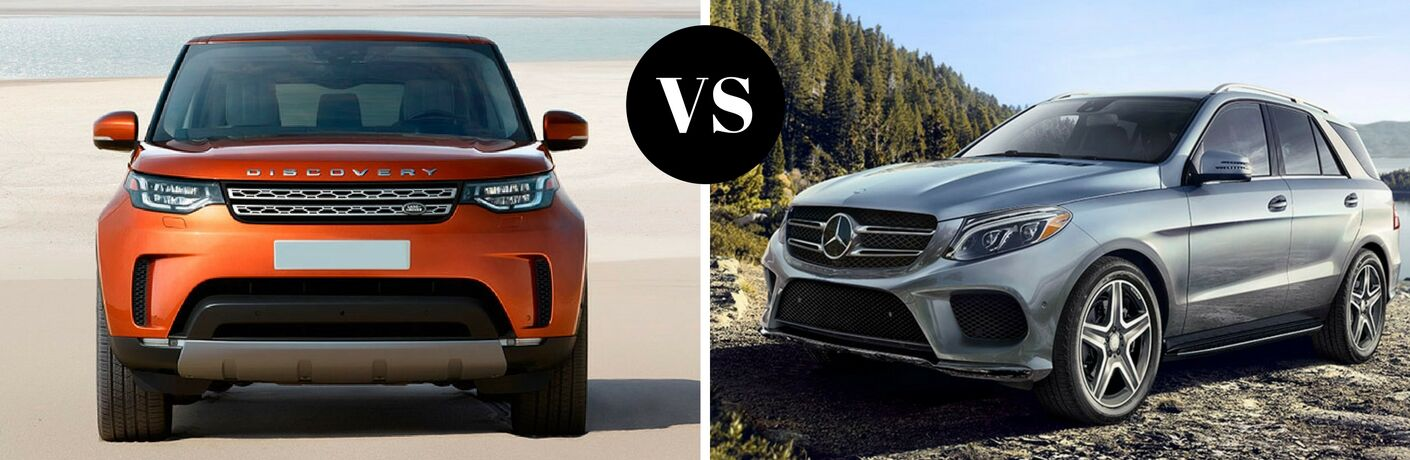 2017 Land Rover Discovery vs 2017 Mercedes-Benz GLE