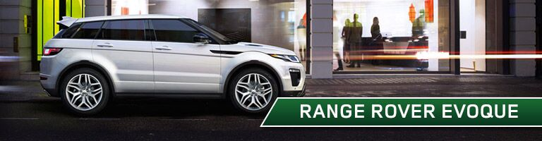 new range rover evoque at land rover warwick