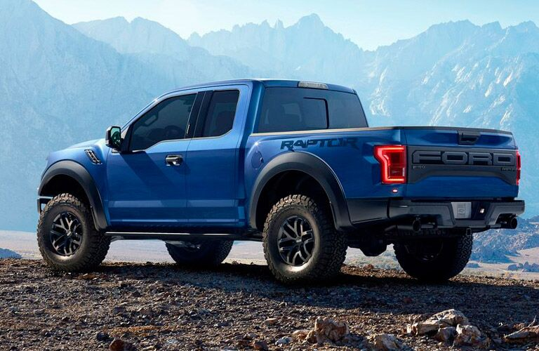 2017 Ford F-150 exterior side