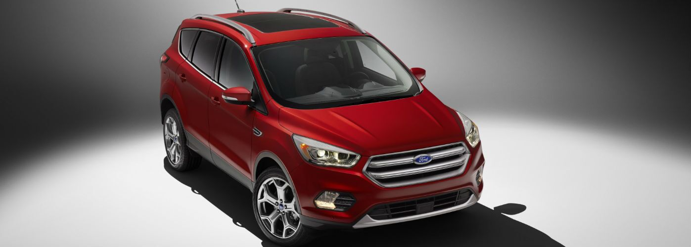 2017 Ford Escape Atlanta GA  exterior front red