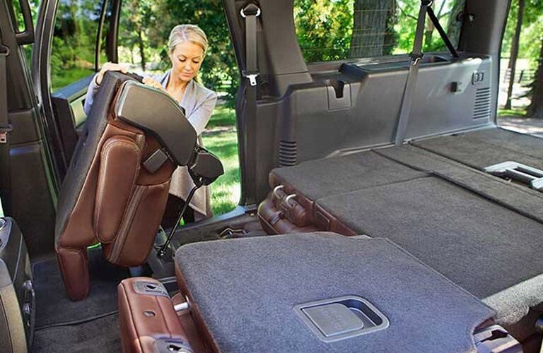 Cargo space in the 2017 Ford Expedition