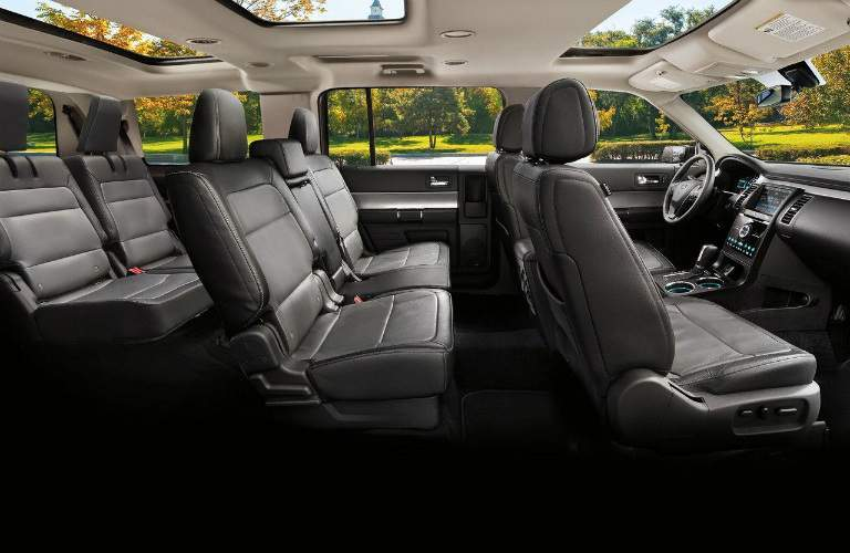 available seating in the 2017 Ford Flex