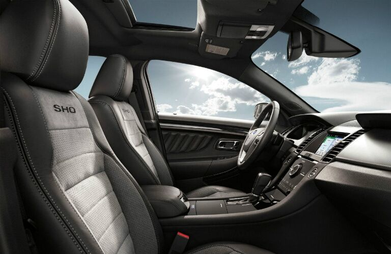 Exclusive SHO seats in 2017 Ford Taurus