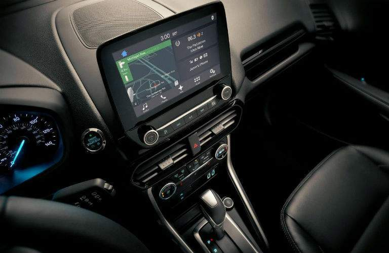 Color touchscreen of the 2018 Ford EcoSport