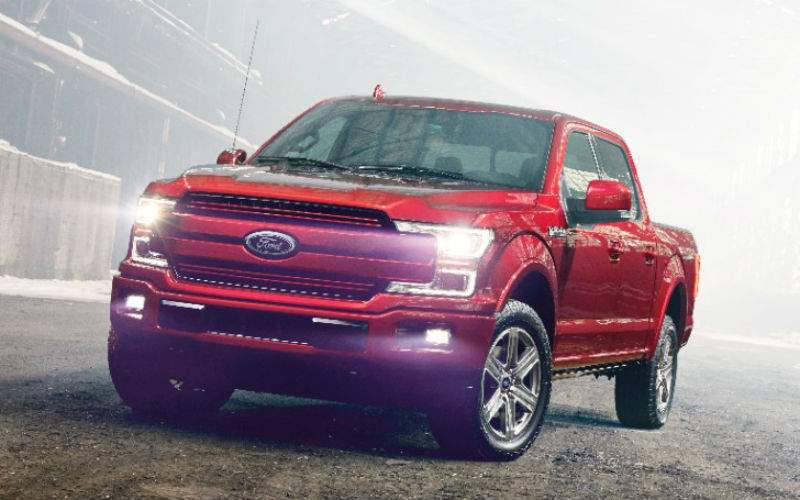 2018 Ford F-150 Exterior Front Profile