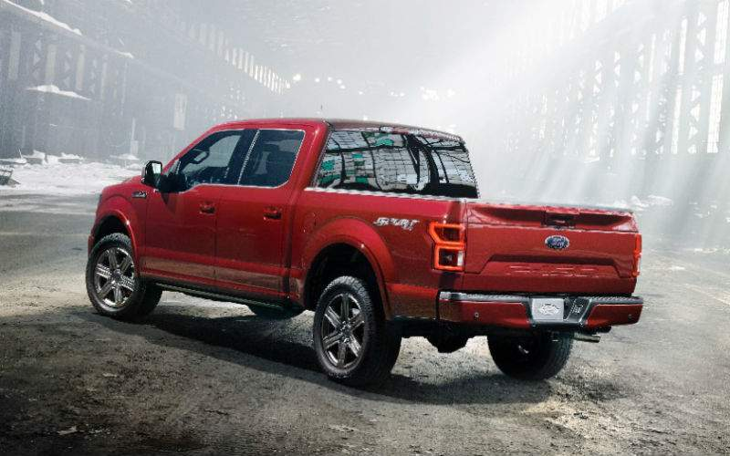 2018 Ford F-150 Exterior Rear Profile